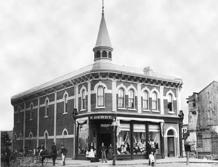 William Henry Built This Impressive Block At The Corner Of Brock And Spruce Streets In 1885 Interior Was Patterned After Simpson S Toronto